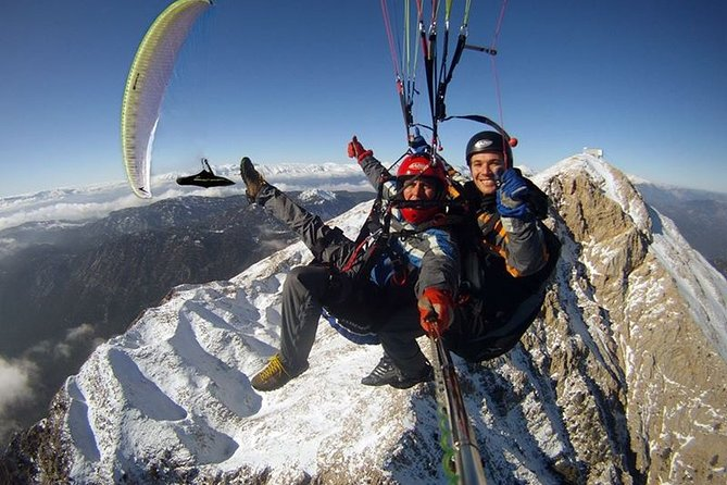 paragliding from Kemer