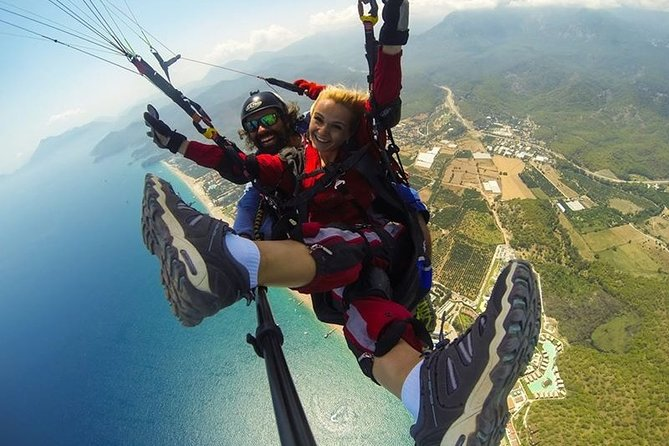 Kemer Paragliding From Tahtali Mountain
