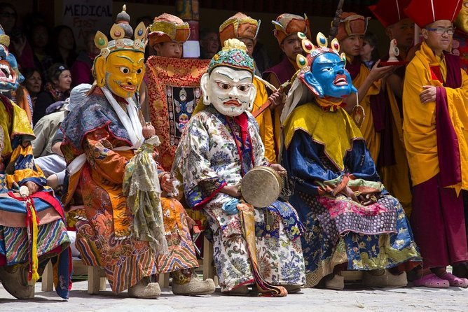 Private Ladakh Hemis Festival Guided Cultural Tour with Lunch