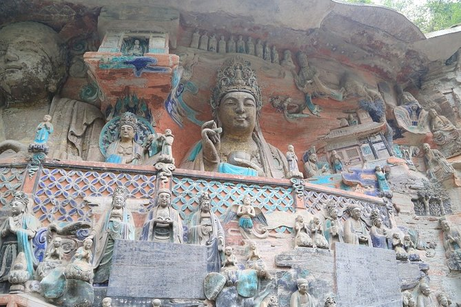 Private One Day Chongqing Dazu Rock Carvings Tour from Chengdu City
