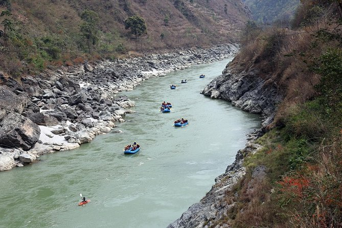Full-Day Rafting Adventure in Trishuli River from Kathmandu