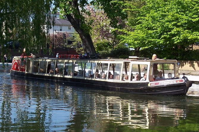 Little Venice to Camden Town Regents Canal Waterbus Boat Trip