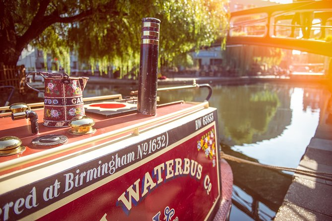 1 Hour Waterbus Boat Trip Camden Lock to Little Venice