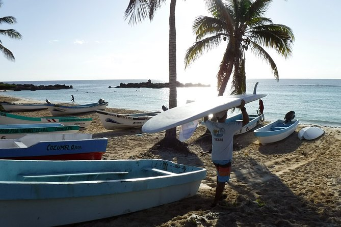 Paddleboard, snorkel and Surf Jeep Tour in Cozumel