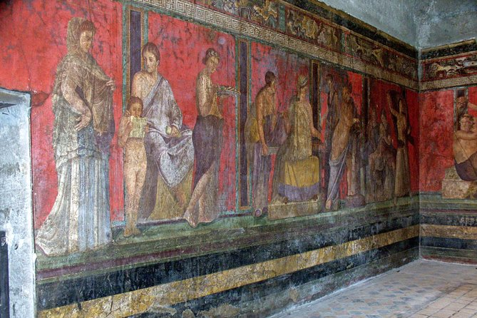 Pompeii with Villa of the Mysteries