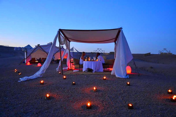 Sunset Dinner Experience and Camel Ride in Agafay Desert