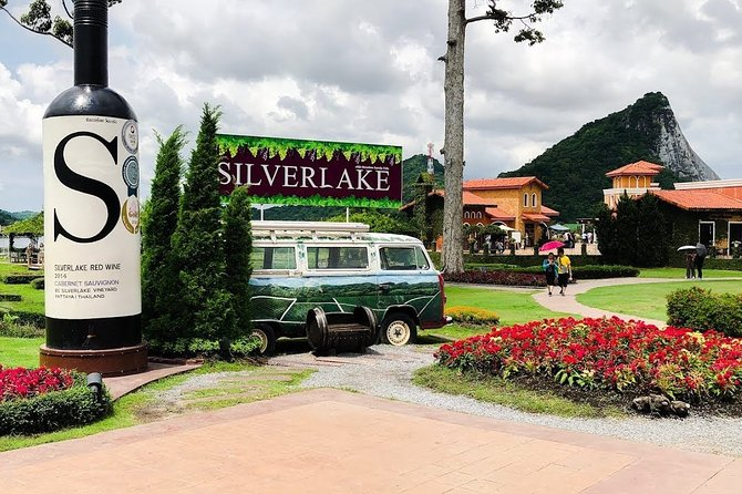 Silverlake Vineyard Tour at Pattaya with Private Transfer