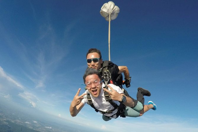 Pattaya Private Tandem Skydiving Adventure with Pickup