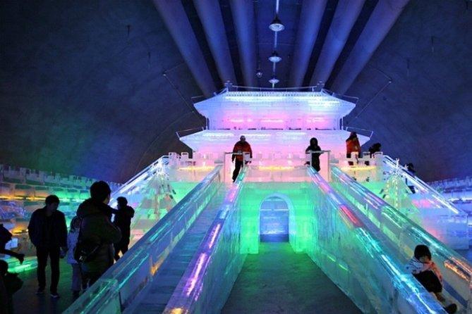 3day Korea winter private tour to Nami, Ski Resort and Ice Fishing Festival