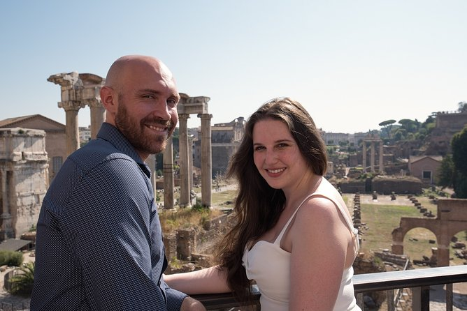 Honeymooners Private Rome Photo Day Tour from Civitavecchia