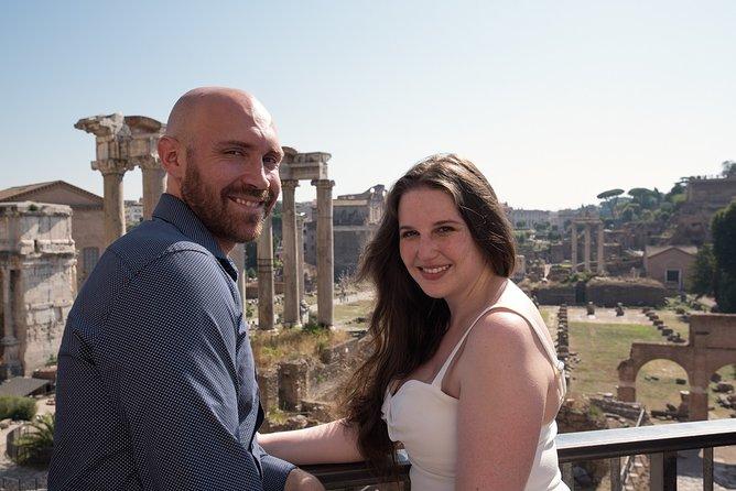 Honeymooners Private Rome Photo Day Tour from Civitavecchia