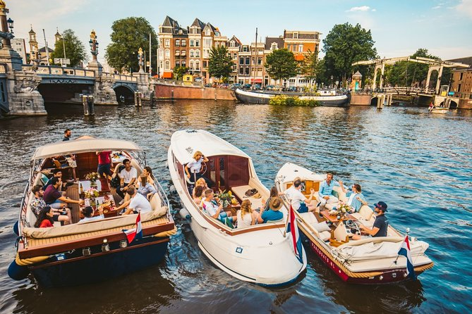 The Ultimate Amsterdam Canal Cruise - 2hr - Small Group - Exclusive Boat