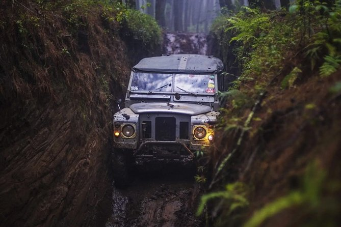 Full-Day Landrover Cross Road Gambung Picnic Trip from Bandung