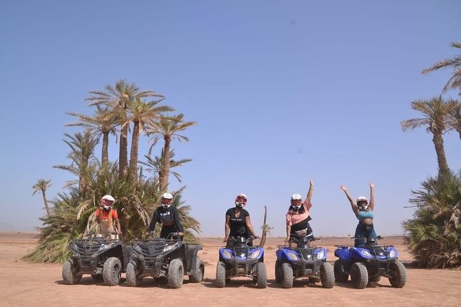 Marrakech Desert and Palm Grove Private Tour by Quad Bike