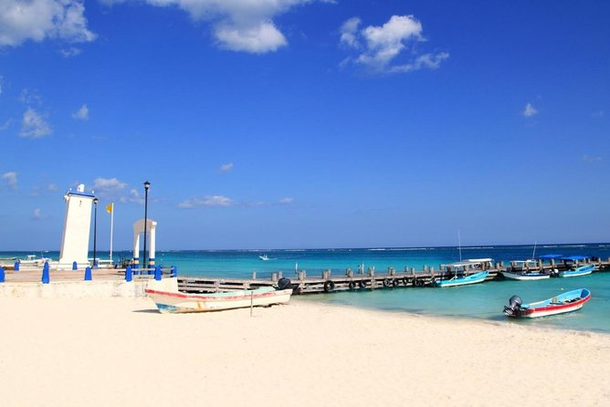 Puerto Morelos Half-Day Snorkel Tour with Lunch and Pickup