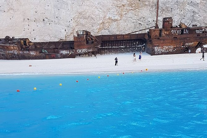 Visit the most popular beach of the world (Navagio-shipwreck) beach