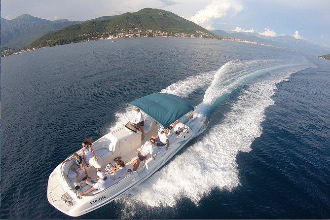 Speed Boat Tour in Boka Kotorska Bay