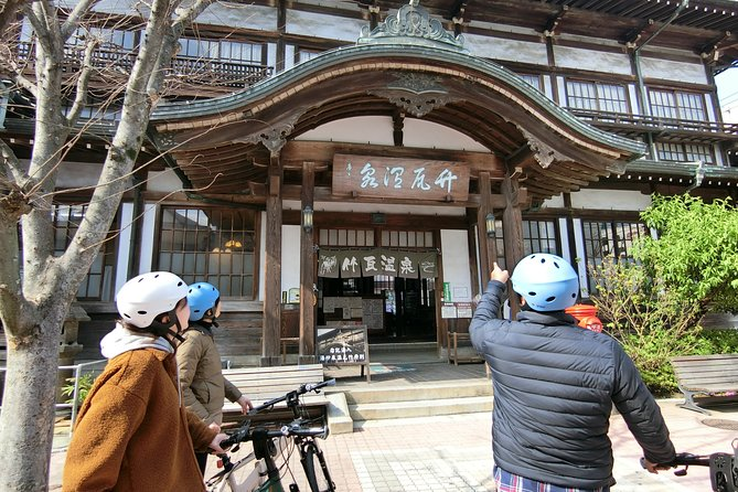 Beppu downhill cycling (guided tour with hell steamed snack)