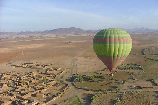 Best Marrakech Hot Air Balloon and Camel Ride Sunrise Tour