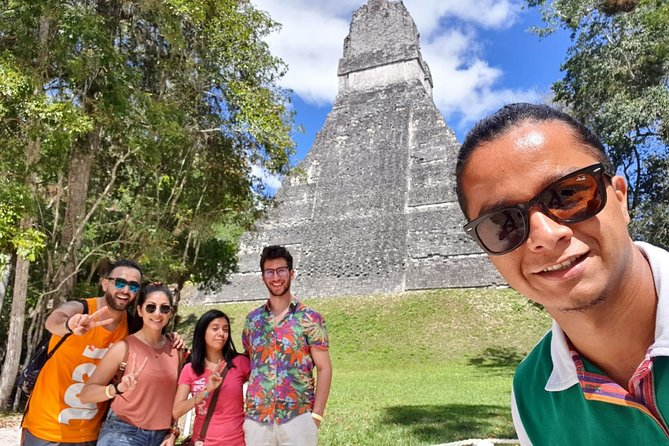 Tikal From Belize Border