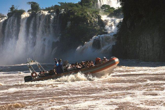 Falls Brazilian Side: Brazilian Falls Tour with Macuco Nautical Safari