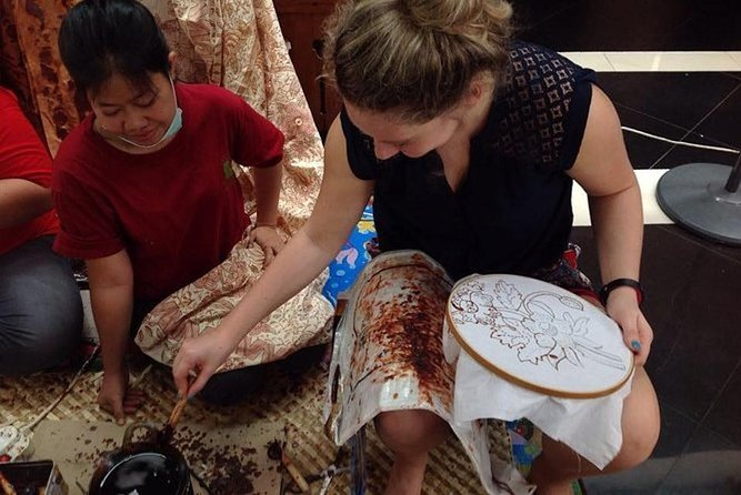 Batik Class in Malang with Lunch