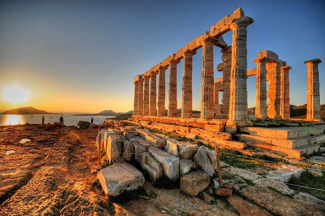 Private Tour 2hours layover Athens 2hTemple of Poseidon drop off in the Airport