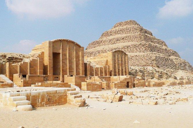 Two-Day Private City Tour of Cairo, Giza Pyramids and Saqqara