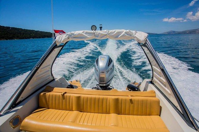 Private Half Day Boat Tour to Lovrečina and Supetar