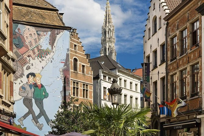 Half-Day Private Walking Tour in Brussels Old City
