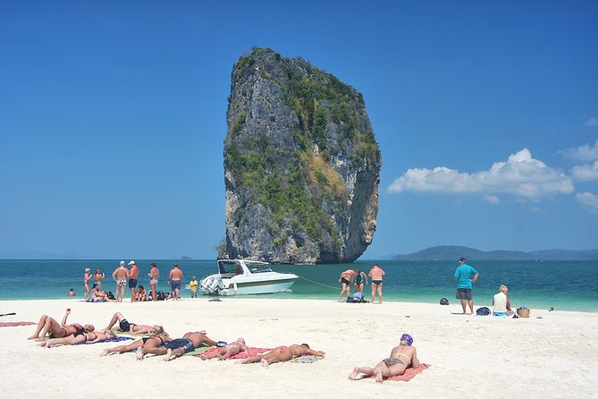 Krabi Four Islands with Snorkeling by Speedboat from Phuket