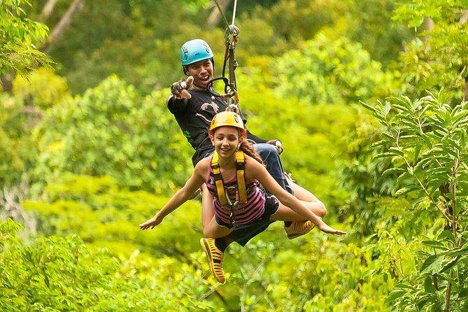Ziplining Hanuman Experience in Phuket with Roundtrip Transfer