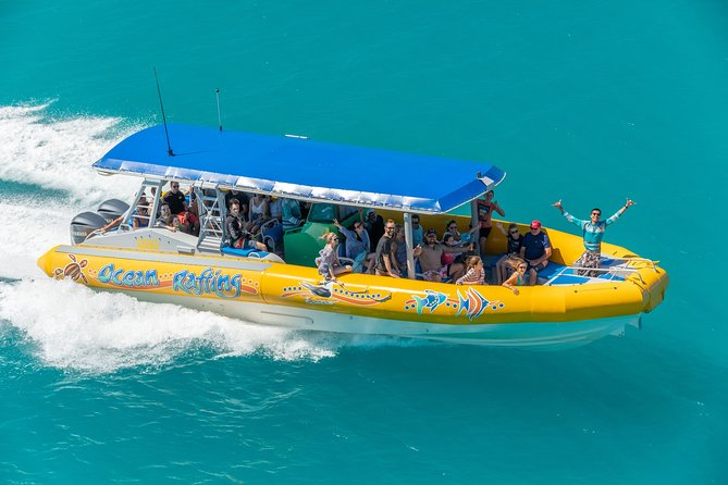 Ocean Rafting Tour to Whitehaven Beach, Hill Inlet Lookout & Top Snorkel Spots