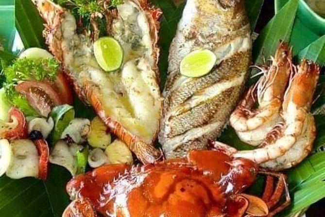 Romantic seaffod Dinner at jimbaran Beach