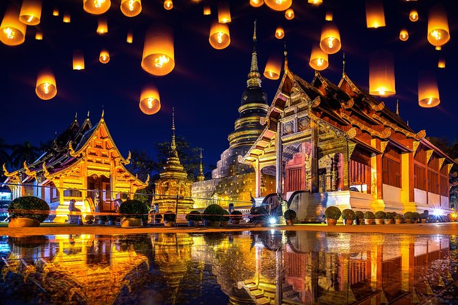 Chiang Mai Lantern Festival Ticket with Dinner