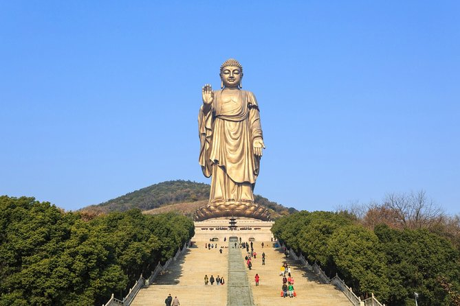Wuxi Half Day Private Tour to Lingshan Buddhist Scenic Spot