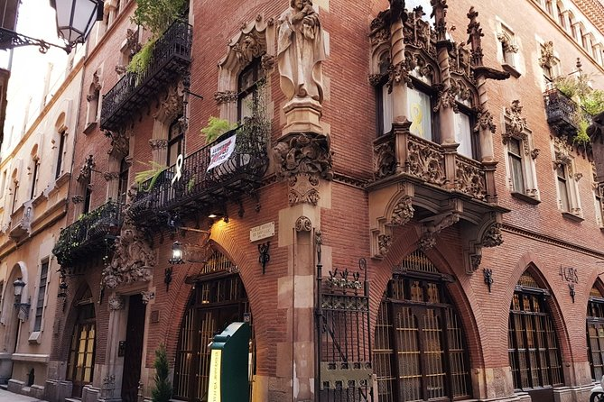 Modernist route through Barcelona