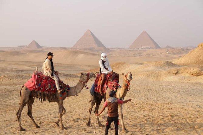Full-Day Memphis Saqqara Giza Pyramids Private Tour from Cairo