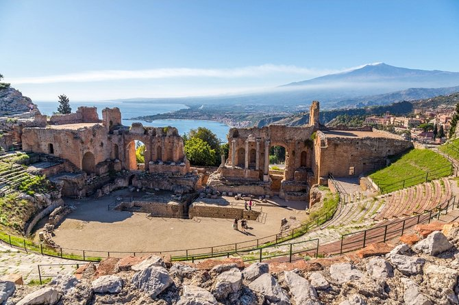Etna Volcano and Taormina Collective Tour from Messina