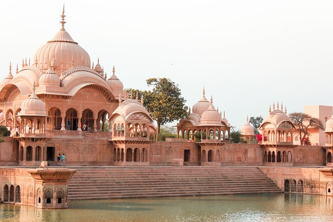 Full-Day Private Tour to Delhi, Agra and Mathura with Pickup