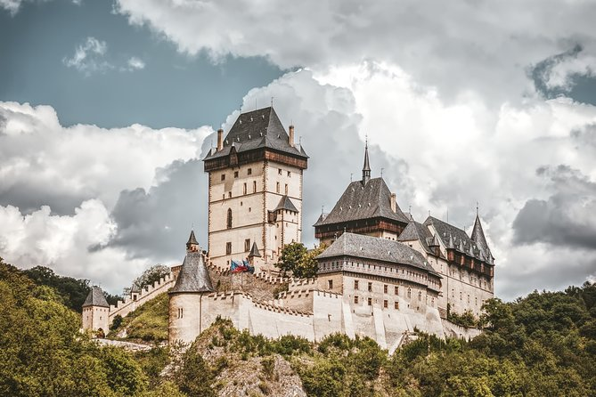 Karlstejn Castle and Koneprusy Caves Private Tour from Prague