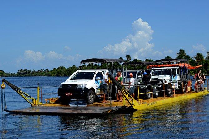 Sunset Tour of Lagoa Bonita by 4WD with Hotel Pickup