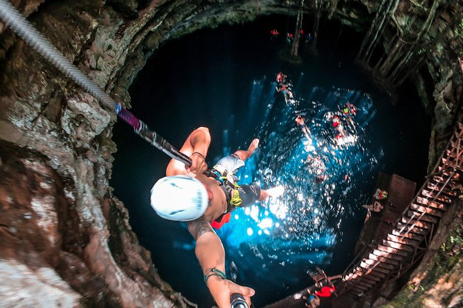 Experience Los 7 Cenotes with lunch and bike ride (Transportation not included).