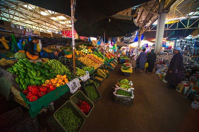 Private Agadir visite thé Big Market (souk el had)