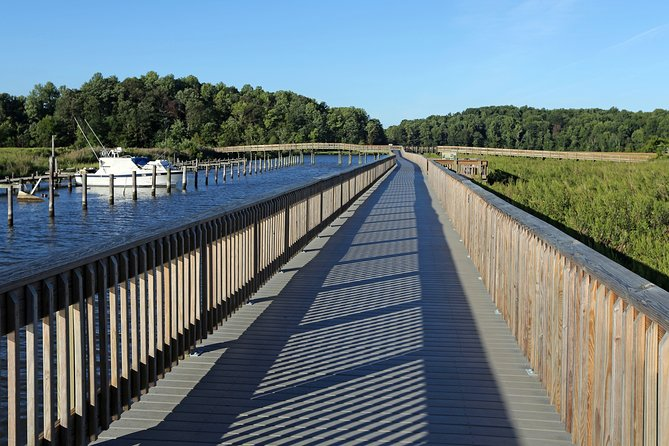 Guided Walking Railway Trail Tour from Chesapeake Beach