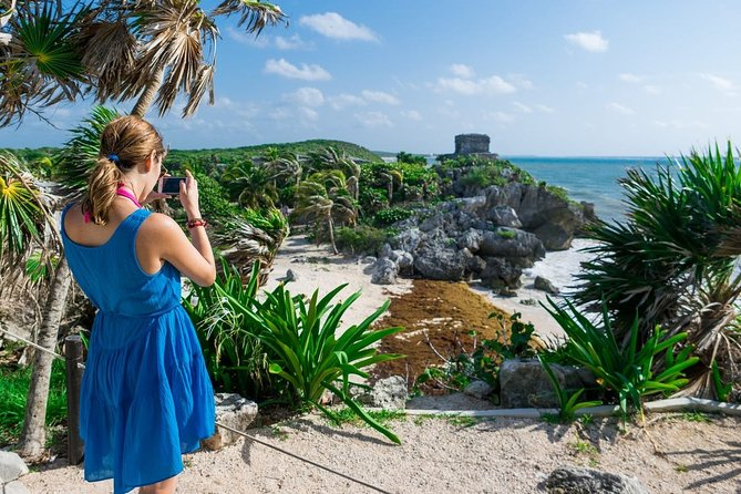Super 5X1 Tour Kaan Luum Lagoon, Cenotes, Tulum and Playa del Carmen from Cancun