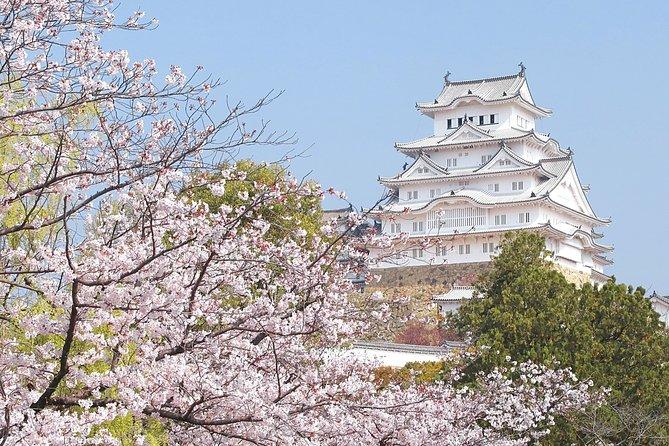 From Osaka: Himeji Castle, Kokoen Garden, Arima Onsen & Kobe 1-Day Tour