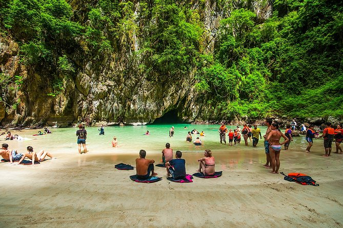 Full-Day Tour to Morakot Cave from Krabi with Lunch