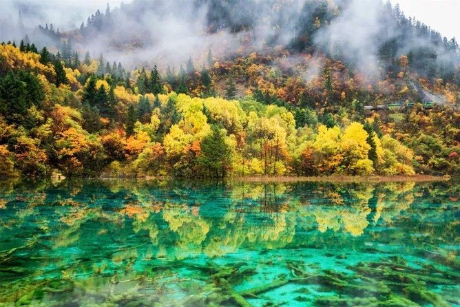 Private 3-Day Jiuzhaigou and Huanglong National Parks Tour from Guilin