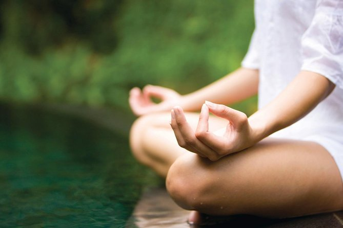 An individual guided meditation session